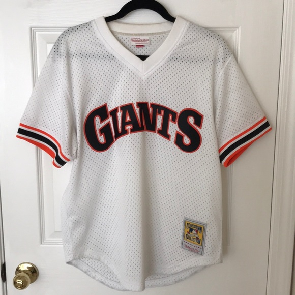 info for 305eb b3d48 Mitchell & Ness Will Clark SF Giants Jersey